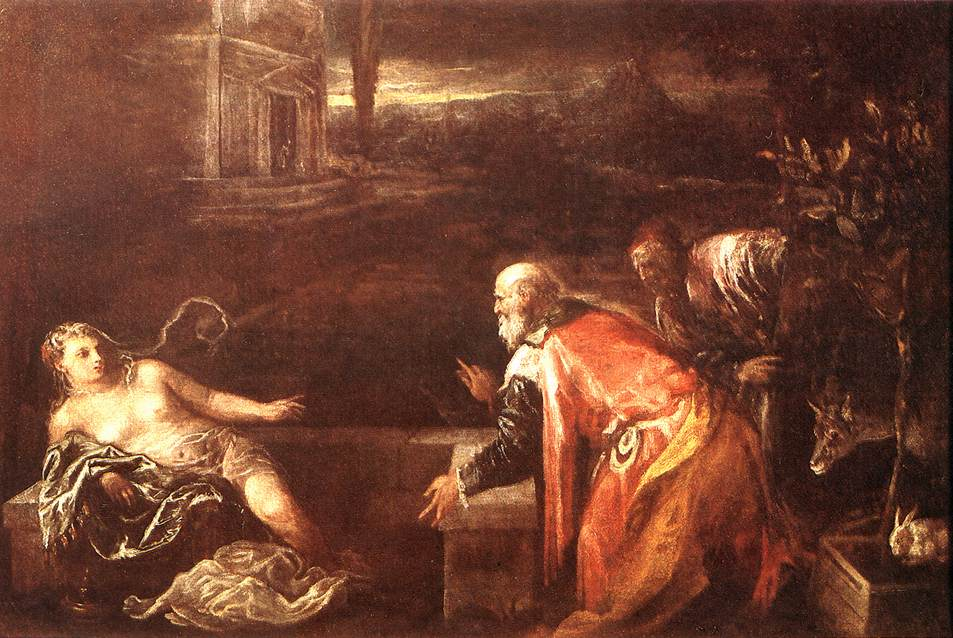 Susanna And The Elders 1571 | Jacopo Bassano | Oil Painting