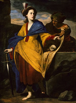 Judith with the Head of Holofernes ca 1630 | Massimo Stanzione | Oil Painting