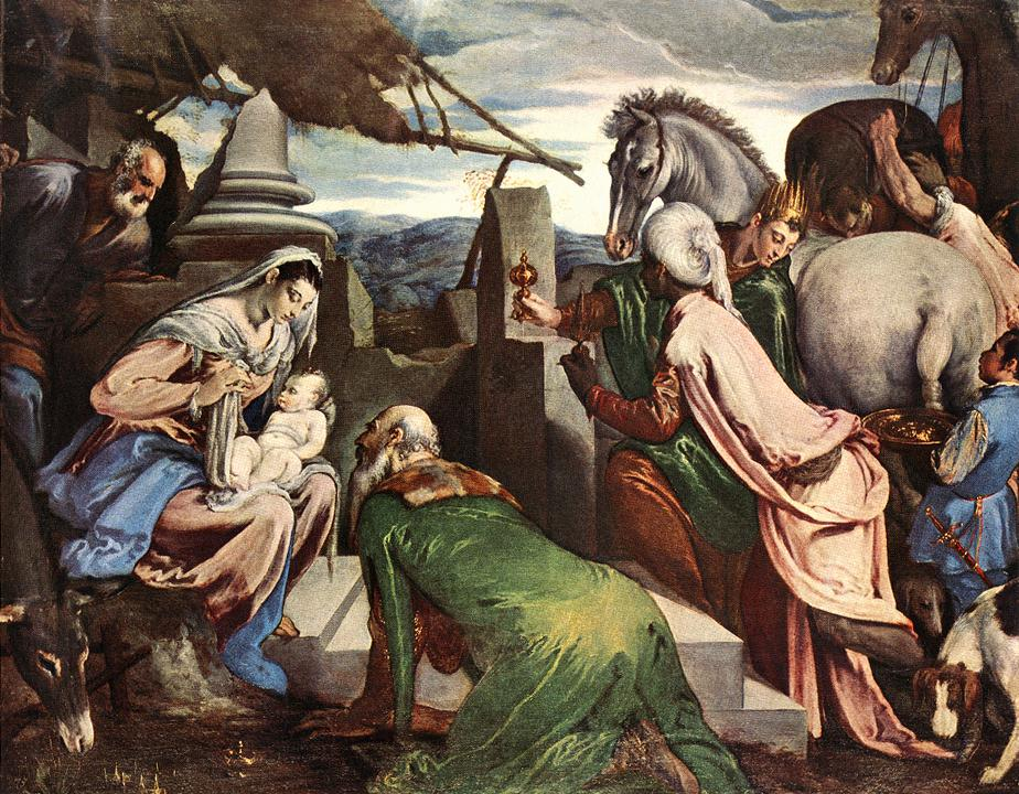 The Three Magi 1562 | Jacopo Bassano | Oil Painting