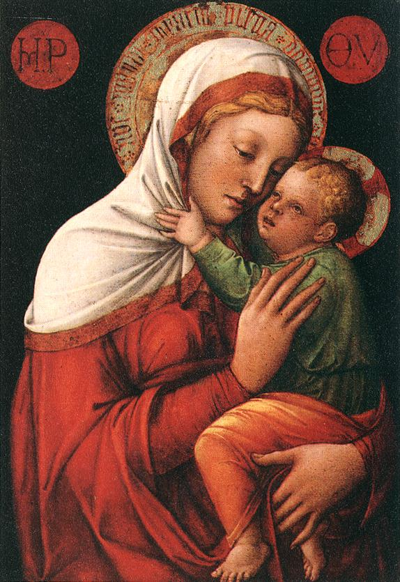 Madonna and Child 1448 | Jacopo Bellini | Oil Painting