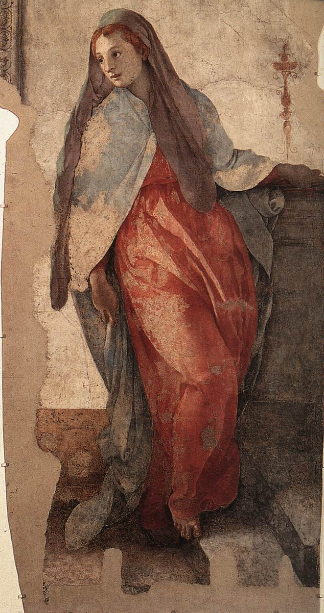 Annunciation Detail II 1527-28 | Jacopo Pontormo | Oil Painting