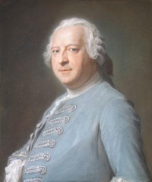 Jean Charles Garnier d Isle | Maurice Quentin de La Tour | Oil Painting