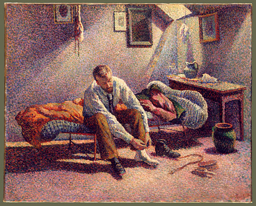 Morning Interior 1890 | Maximilien Luce | Oil Painting