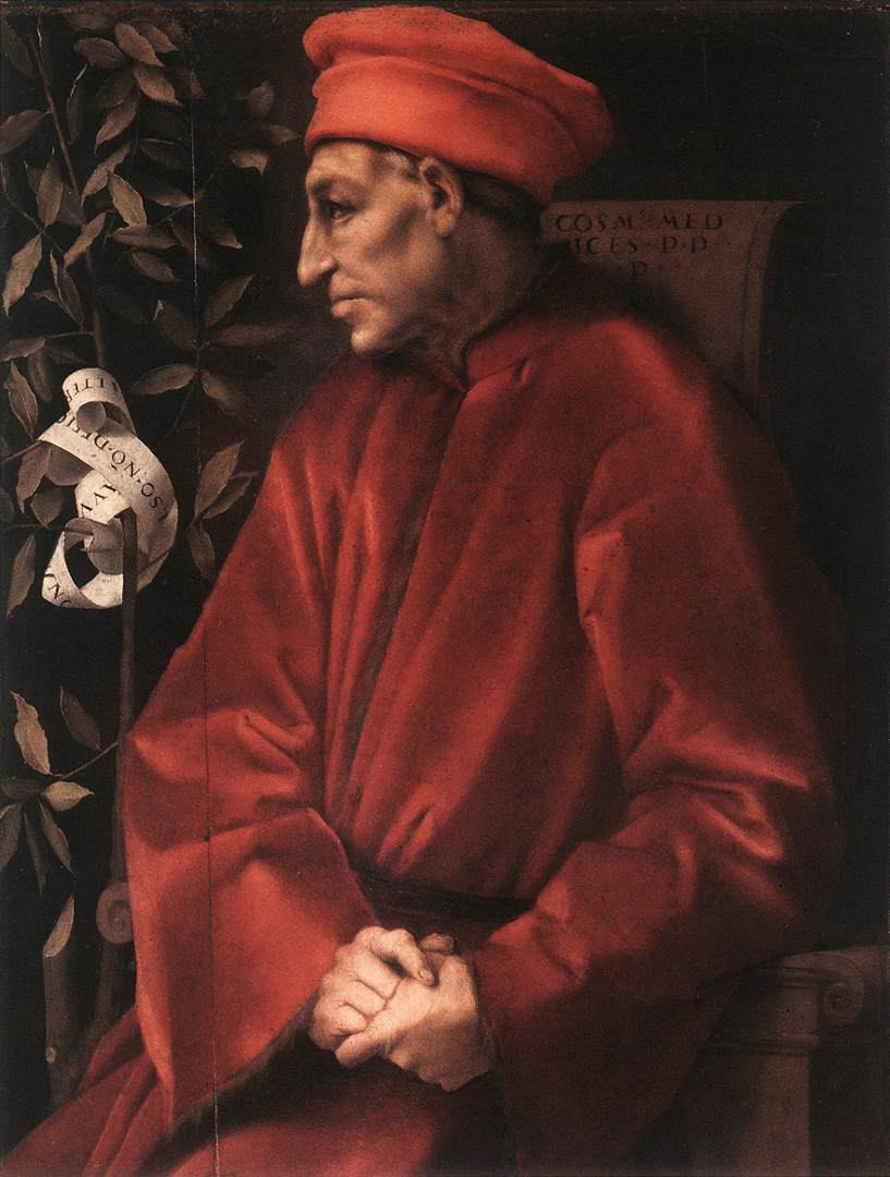 Cosimo Il Vecchio 1520 | Jacopo Pontormo | Oil Painting