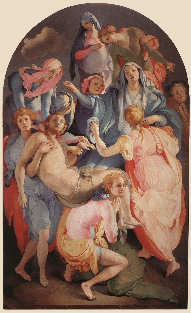 Deposition 1528 | Jacopo Pontormo | Oil Painting