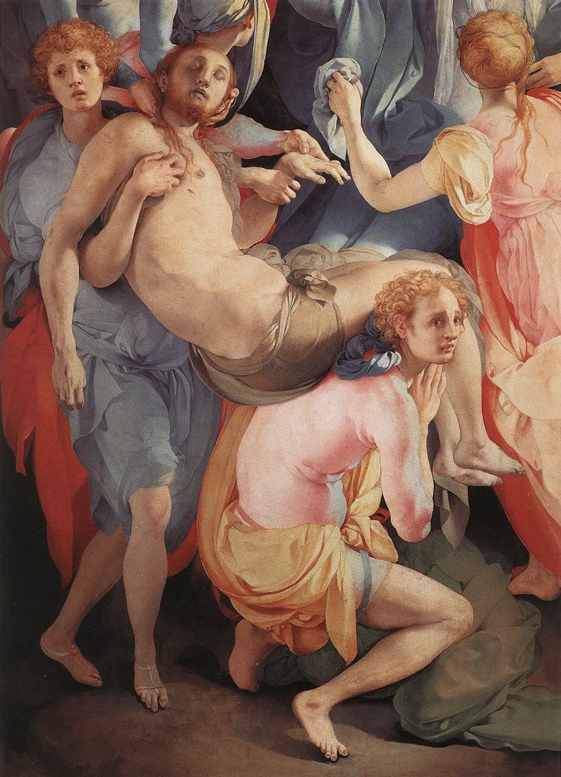Deposition Detail II 1528 | Jacopo Pontormo | Oil Painting