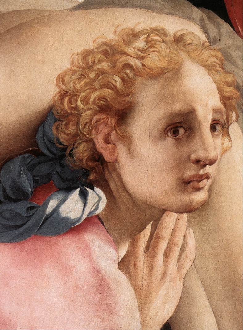 Deposition Detail IV 1528 | Jacopo Pontormo | Oil Painting
