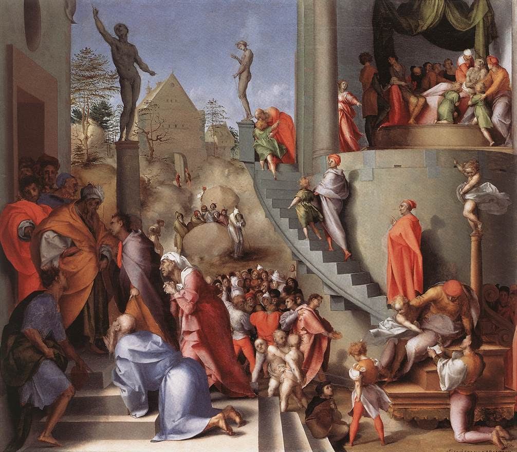Joseph In Egypt 1515-18 | Jacopo Pontormo | Oil Painting
