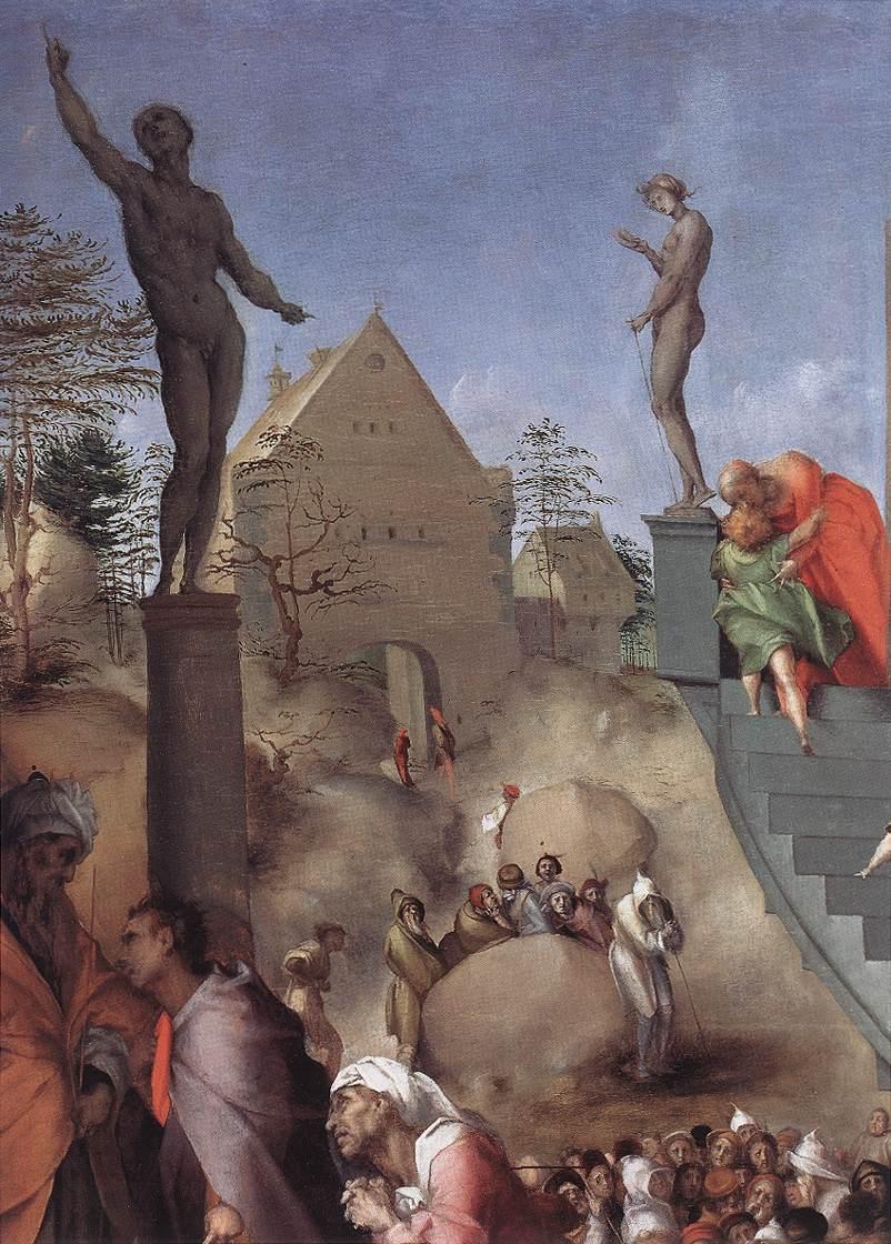 Joseph In Egypt Detail 1515-18 | Jacopo Pontormo | Oil Painting