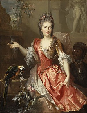 Portrait of a Woman Perhaps Madame Claude Lambert de Thorigny | Nicolas de Largilliere | Oil Painting