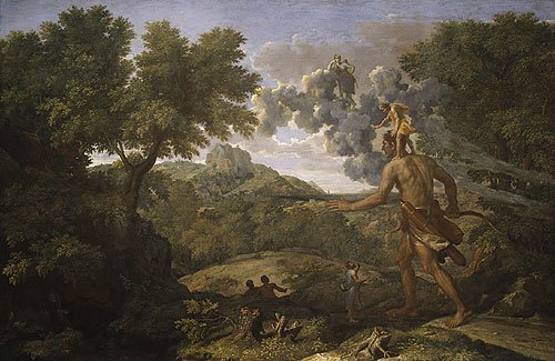 Blind Orion Searching for the Rising Sun 1658 | Nicolas Poussin | Oil Painting