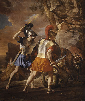 The Companions of Rinaldo | Nicolas Poussin | Oil Painting