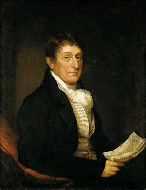 Philip Van Cortlandt 1810 | Ezra Ames | Oil Painting