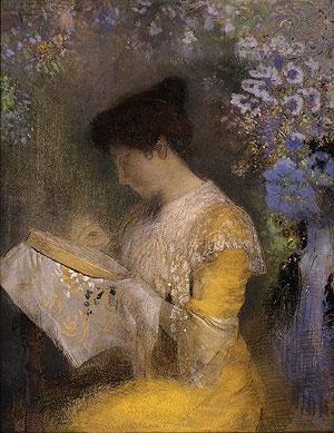 Madame Arthur Fontaine (Marie Escudier) 1901 | Odilon Redon | Oil Painting