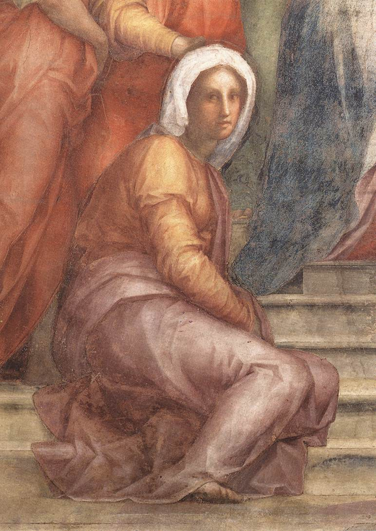 Visitation Detail 1514-16 | Jacopo Pontormo | Oil Painting