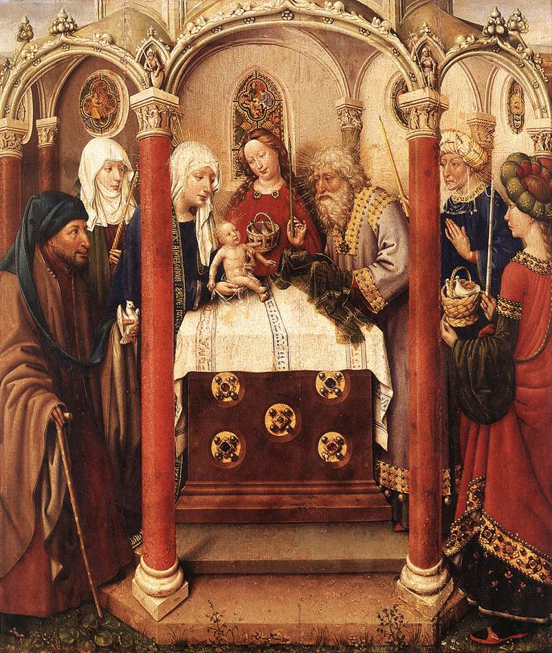 Altarpiece Of The Virgin 1433-35 | Jacques Daret | Oil Painting