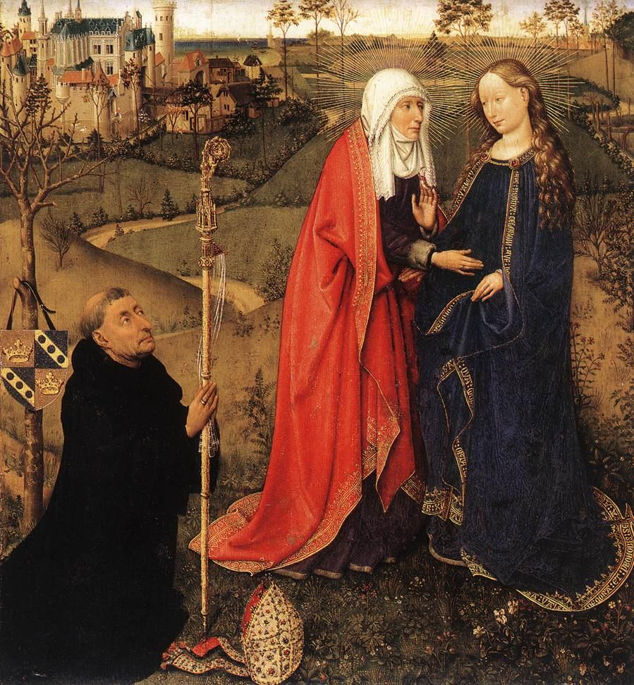 Visitation 1434-35 | Jacques Daret | Oil Painting