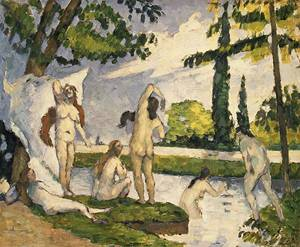 Bathers | Paul Cezanne | Oil Painting