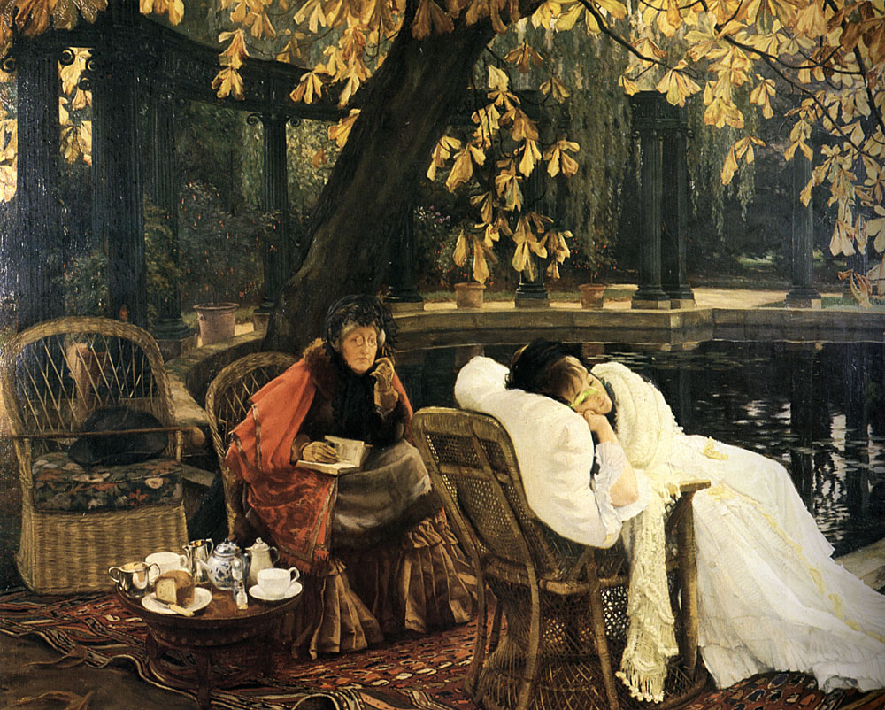 A Convalescent | Jacques Joseph Tissot | Oil Painting