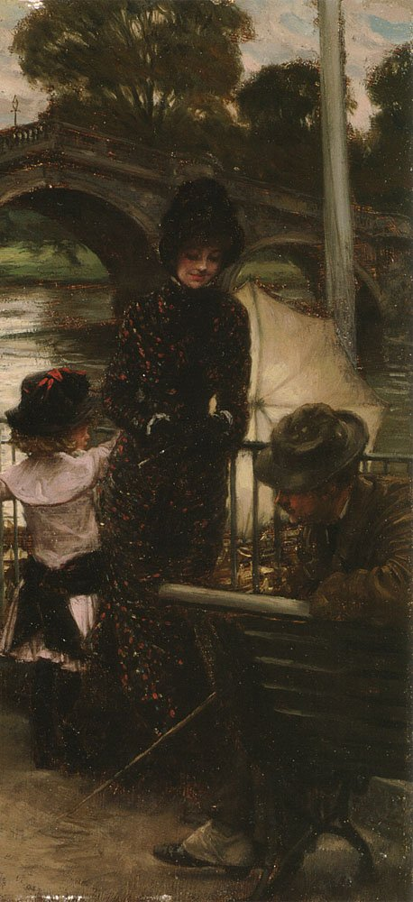 A Declaration of Love | Jacques Joseph Tissot | Oil Painting