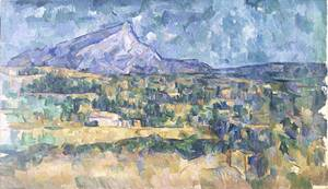 Mont Sainte Victoire | Paul Cezanne | Oil Painting