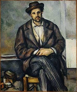 Seated Peasant | Paul Cezanne | Oil Painting