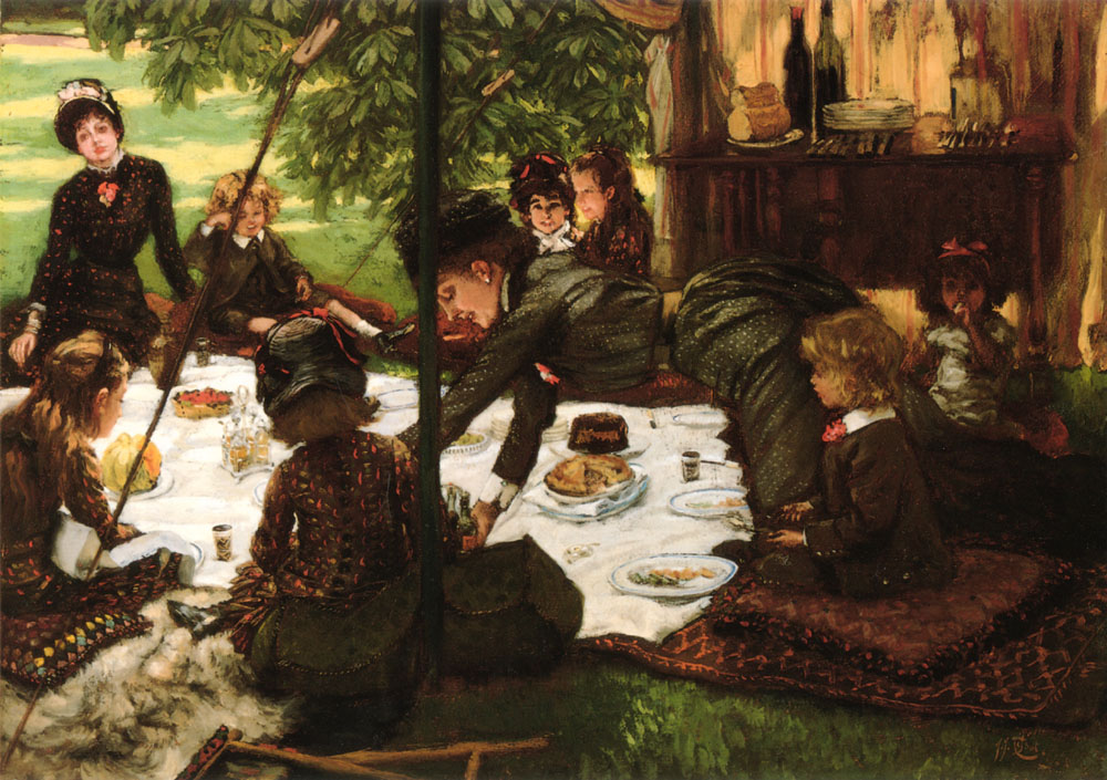 Childrens Party | Jacques Joseph Tissot | Oil Painting