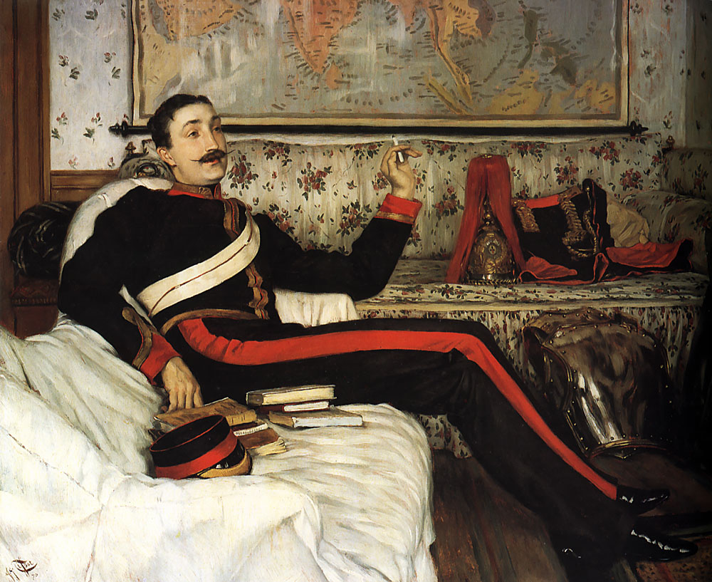 Colonel Frederick Gustavus Barnaby | Jacques Joseph Tissot | Oil Painting