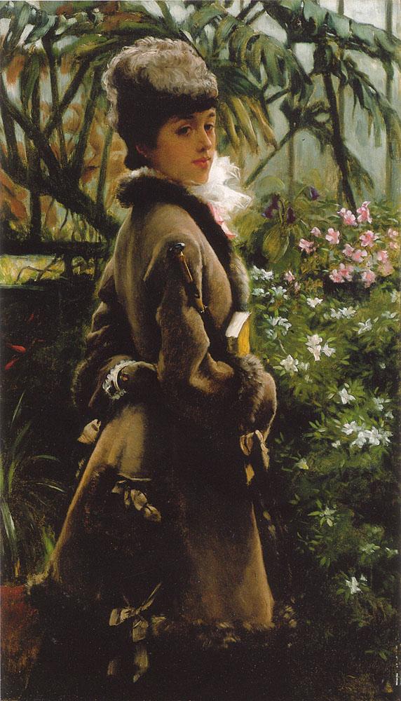 Dans la serre | Jacques Joseph Tissot | Oil Painting