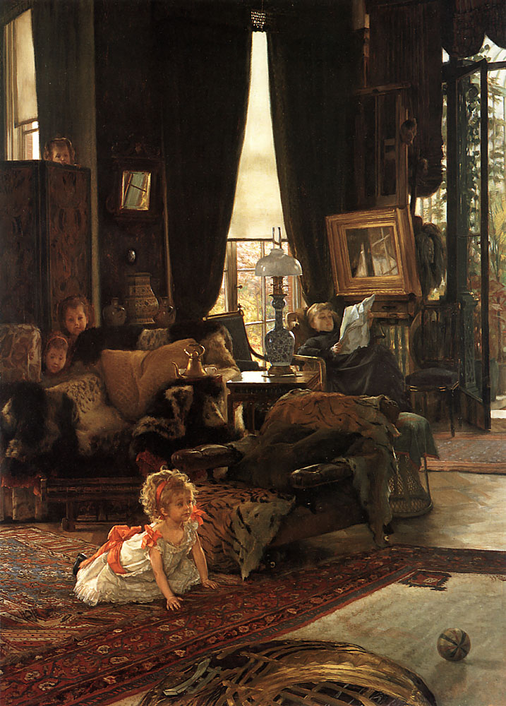 Hide and Seek | Jacques Joseph Tissot | Oil Painting