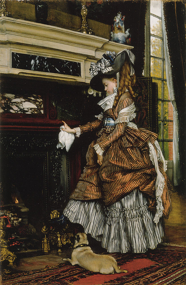 La Cheminee | Jacques Joseph Tissot | Oil Painting