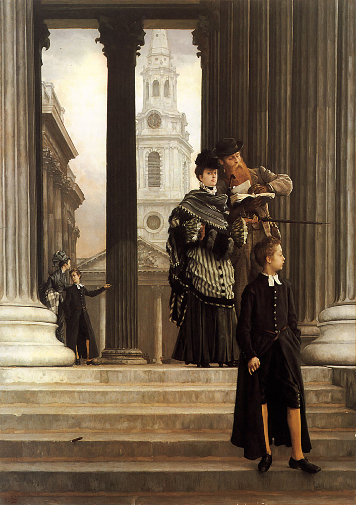 London Visitors | Jacques Joseph Tissot | Oil Painting