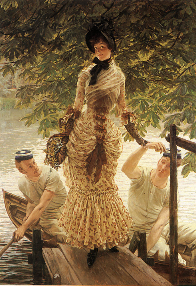 On the Thames | Jacques Joseph Tissot | Oil Painting