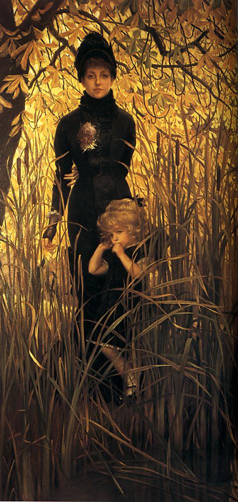 Orphan | Jacques Joseph Tissot | Oil Painting