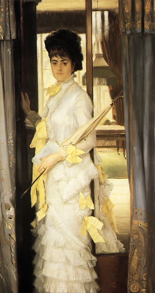 Portrait of Miss Lloyd | Jacques Joseph Tissot | Oil Painting