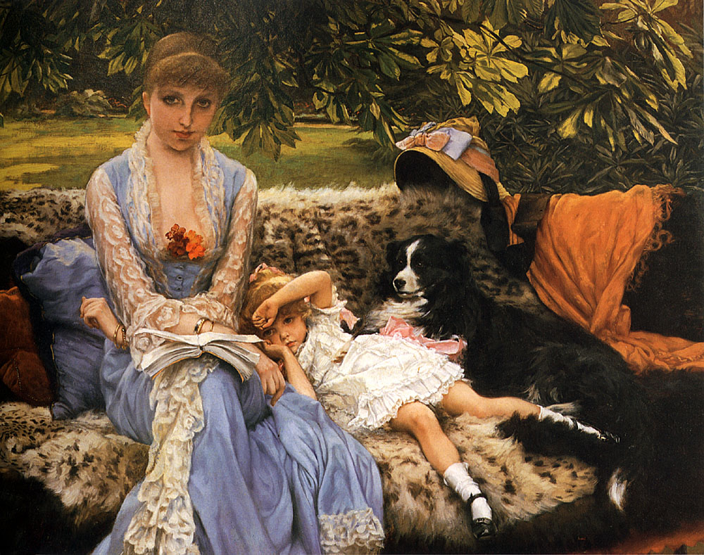 Quiet | Jacques Joseph Tissot | Oil Painting