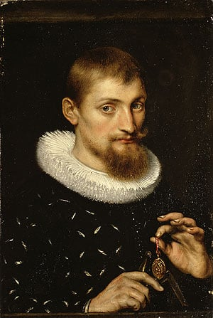 Portrait of a Man Possibly an Architect or Geographer | Peter Paul Rubens | Oil Painting