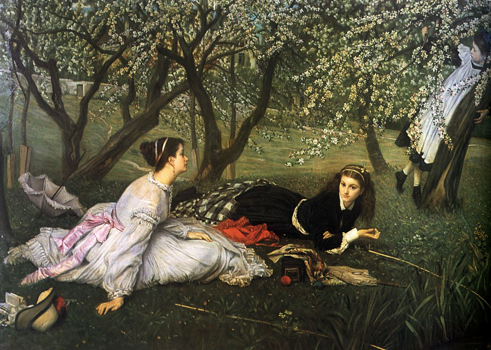 Spring | Jacques Joseph Tissot | Oil Painting