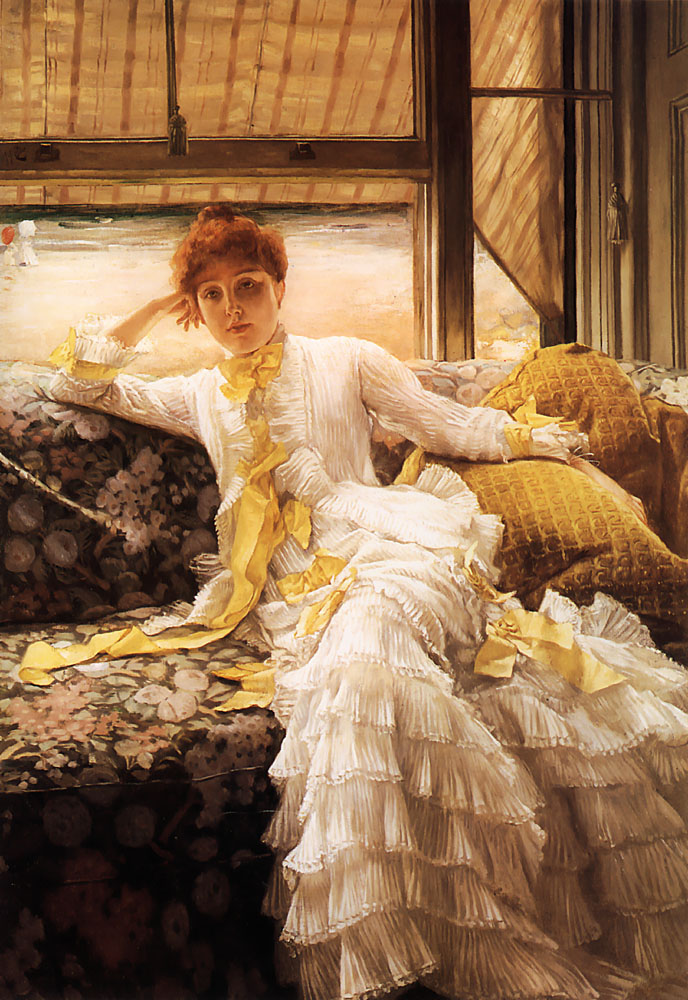 Spring Specimen of a Portrait | Jacques Joseph Tissot | Oil Painting