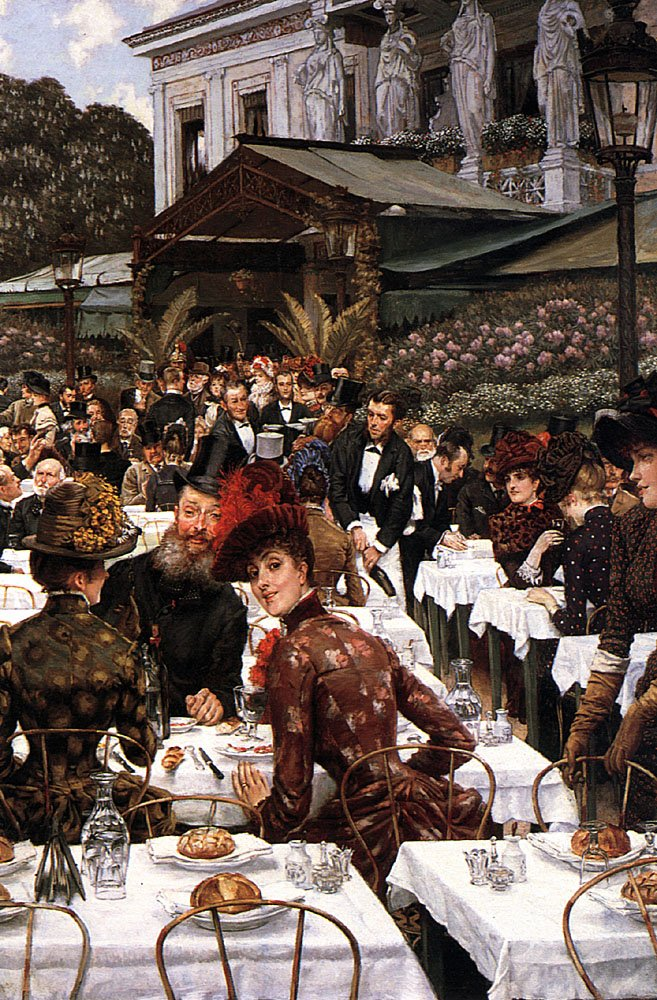 The Artists Ladies | Jacques Joseph Tissot | Oil Painting