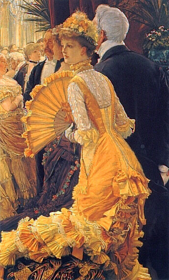 The Ball | Jacques Joseph Tissot | Oil Painting