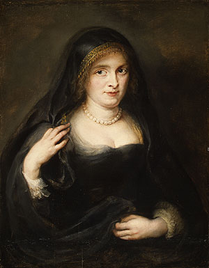 Portrait of a Woman Probably Susanna Lunden | Peter Paul Rubens | Oil Painting