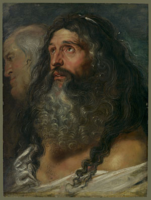 Study of Two Heads | Peter Paul Rubens | Oil Painting