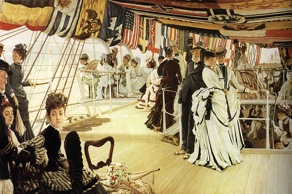 The Ball on Shipboard | Jacques Joseph Tissot | Oil Painting