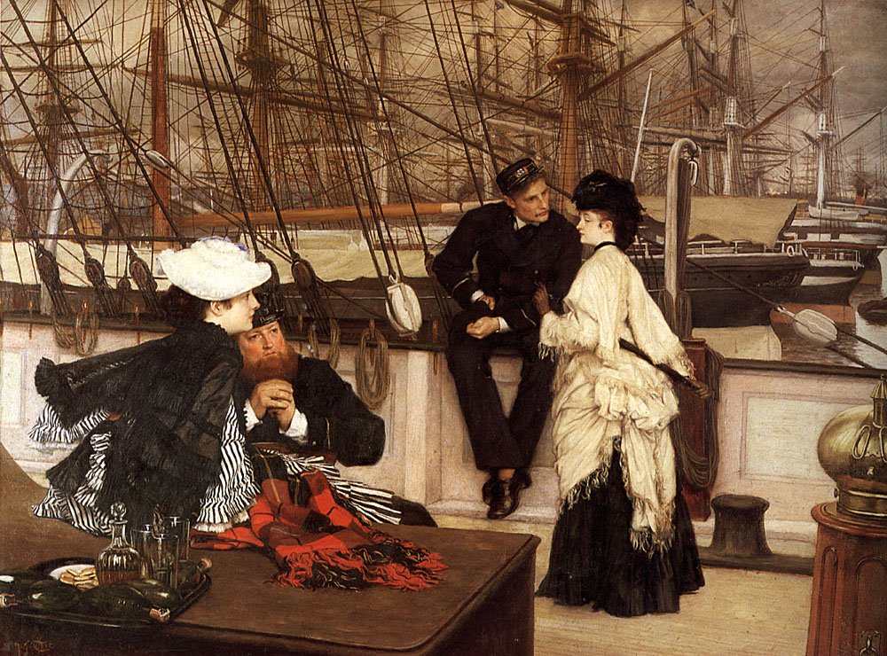 The Captain and the Mate | Jacques Joseph Tissot | Oil Painting