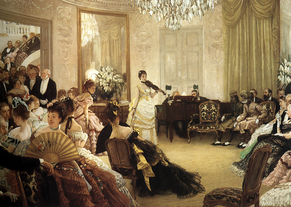 The Concert | Jacques Joseph Tissot | Oil Painting