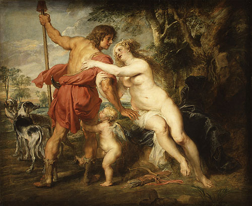 Venus and Adonis mid or late 1630s | Peter Paul Rubens | Oil Painting