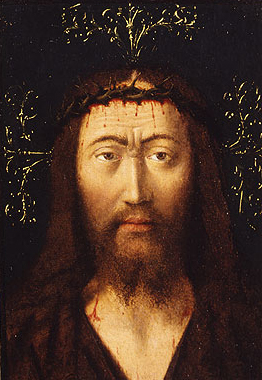 Head of Christ ca 1445 | Petrus Christus | Oil Painting