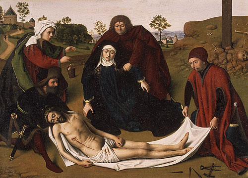 The Lamentation ca 1450 | Petrus Christus | Oil Painting