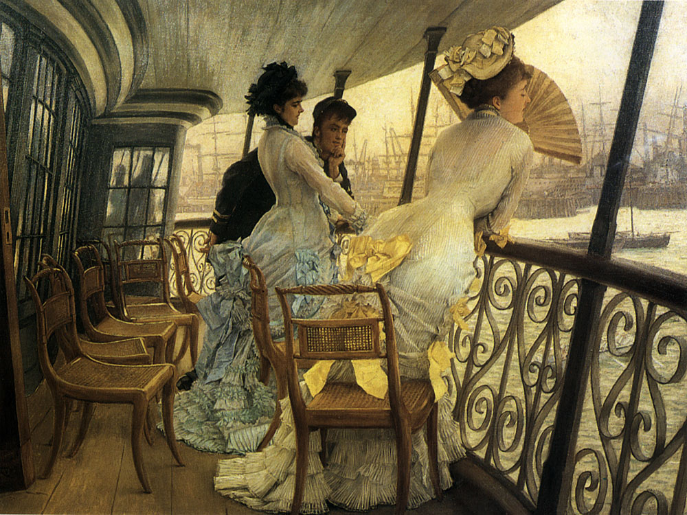 The Gallery of HMS Calcutta | Jacques Joseph Tissot | Oil Painting